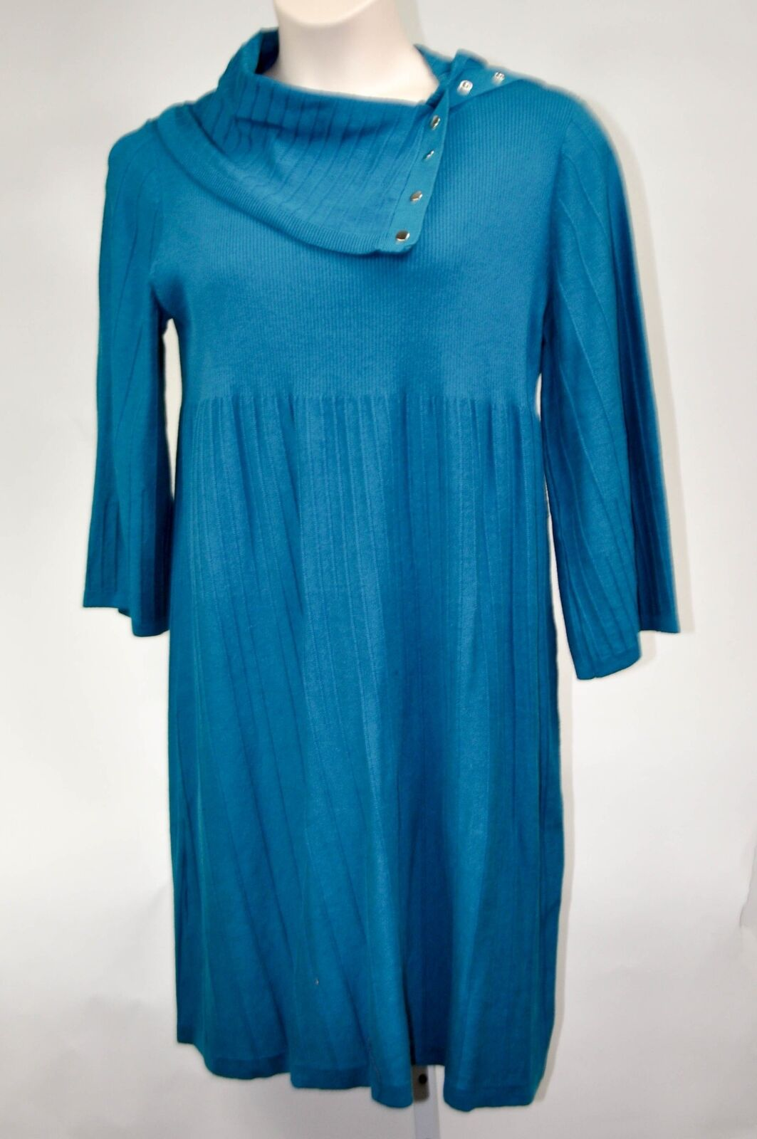 Style & Co Woman Plus Sweater Dress Sedona  French Teal  Size 2X MSRP  79