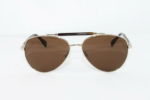 Cole Haan Men/'s Sunglasses CH6002 color 717 Gold Aviator Size 59mm New
