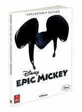Disney's Epic Mickey Collector's Edition Strategy Guide by Prima Games