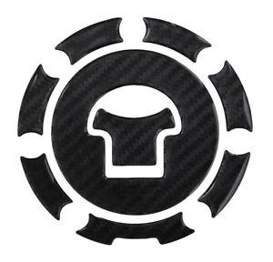 100% Vrai Bouchon De Réservoir 3d Coussinet Charbon Noir 600039 Universel Pour Honda Apparence EsthéTique