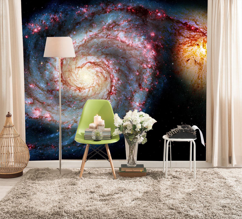 3D Rotating Nebula 3001 Wall Paper Wall Print Decal Wall Deco Wall Indoor Murals