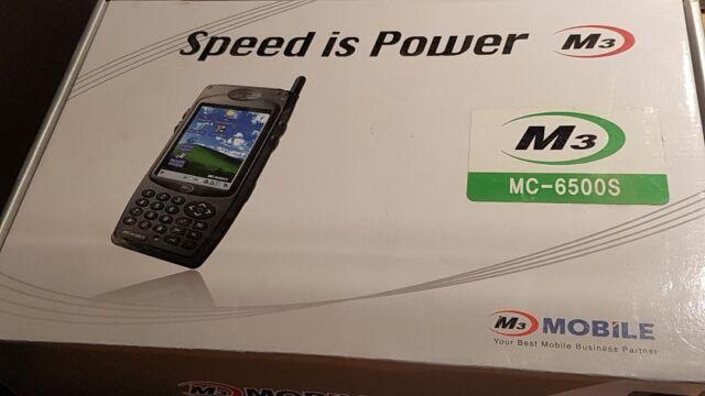 """M3 MC-6500S PDA Scanner 3.5"""" Touch Screen POS Bluetooth WiFi mit PSU und CRADLE"""