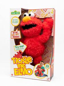 Sambro - Sesamstraße - Kitzel mich Elmo Plüschfigur ca. 36 cm mit Sound NEU/OVP
