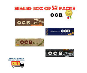 OCB Organic Hemp Brown Ultimate Virgin Unbleached Rolling Paper with Tips Filter