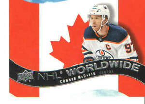 2020-21 UD Upper Deck Hockey NHL Worldwide Singles #WW1-30 You Pick From List !!