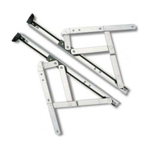 "UPVC Window Hinges Friction Stays 8/"" 10/"" 12/"" 16/"" 20/"" 24/"" Inch One Pair"