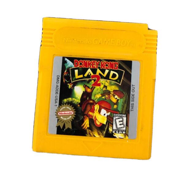 Donkey Kong Land 2 (Nintendo Game Boy, 1996)