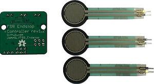 3 lunghi FSRS/CORSA CONTROLLER SENSORE RILEVATORE DI BORDO AUTO Modulo di attivazione