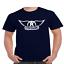 Aerosmith-Wings-T-Shirt-Classic-Rock-Band thumbnail 5
