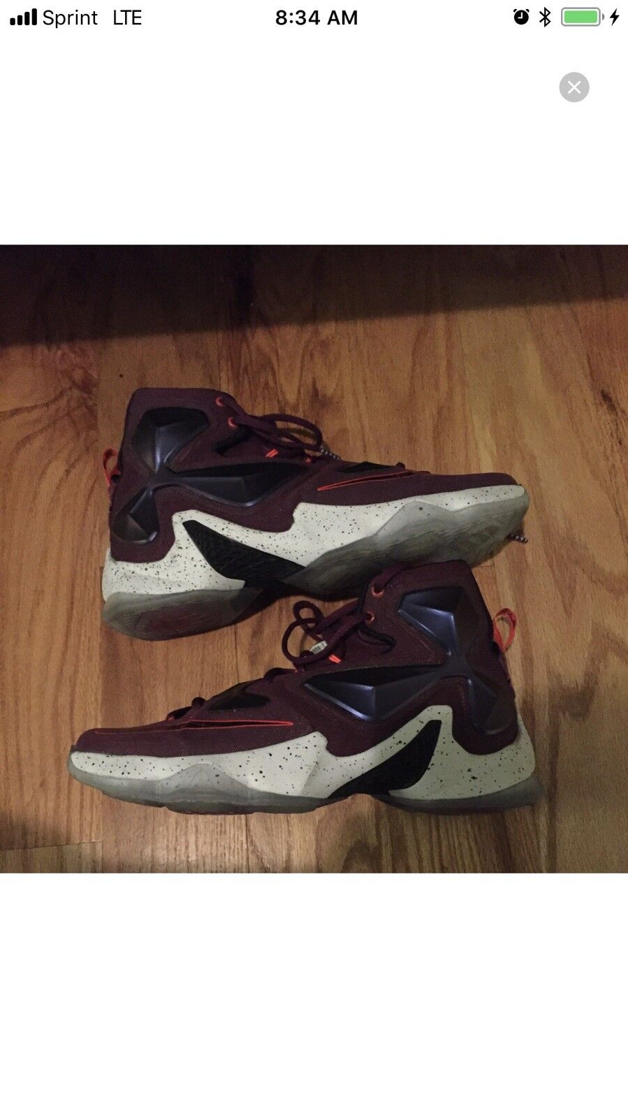 factory authentic c5635 ec642 Nike Lebron Lebron Lebron XIII 13 Berry Sz. 10 7708e0