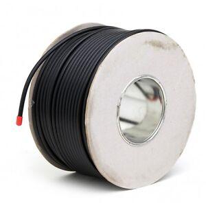 25m-Negro-Rg6-Satelital-FREESAT-Digital-Antena-Tv-Coaxial-Cable-Coaxial-De-Alambre-De-Plomo