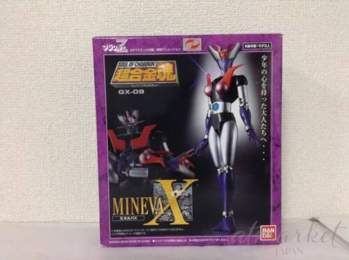 New Soul of Chogokin GX-09 MINERVA X Action Figure Mazinger Z BANDAI Japan F//S