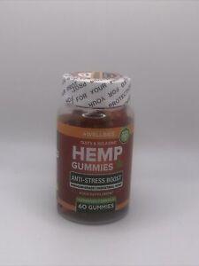Wellbies HEMP GUMMIESNatural GUMMY BEARS Anti Stress 60 Servings