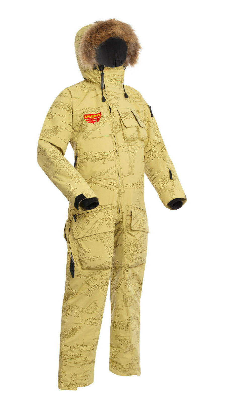 One-Piece Suit LMA  Griffin SHL Warm Insulated Snowmobile & Skiing Co ll  with 100% quality and %100 service