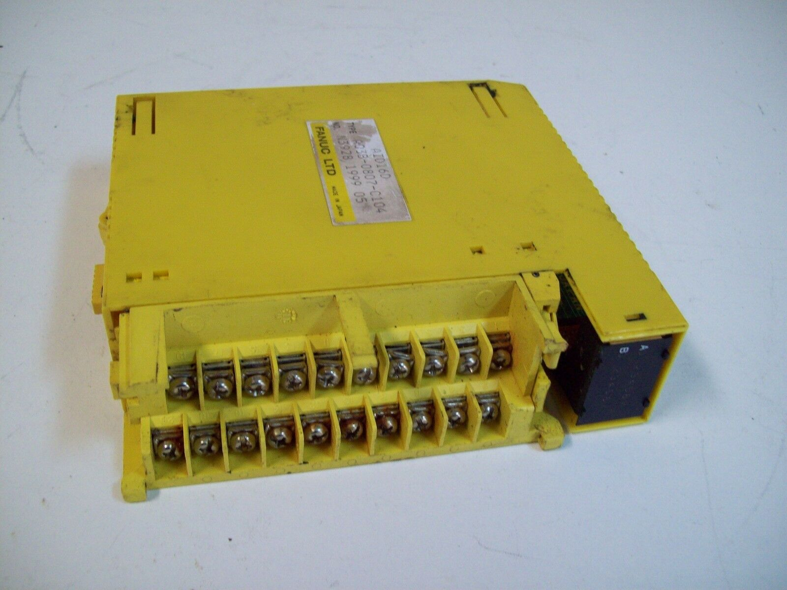 FANUC A03B-0807-C104 INPUT MODULE I O MODEL A 16PT POS NEG 24VDC - NO COVERS