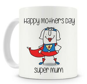 Happy-Mother-039-s-Day-Mug-Supermum-Personalise-it-add-names