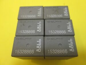 Details about GM DELPHI RELAY 15328866 8866 FREE SHIPPING ((QTY 6))