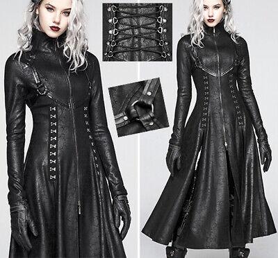 OUTLET Veste blouson cuir gothique punk fashion vintage argenté spike PunkRave