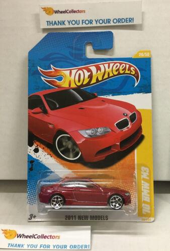 Dark RED Hot Wheels 2011 /'10 BMW M3 #26 New Models WF3