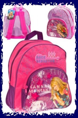 Sac Hannah Montana Sac à dos rose ou violet école maternelle temps libre