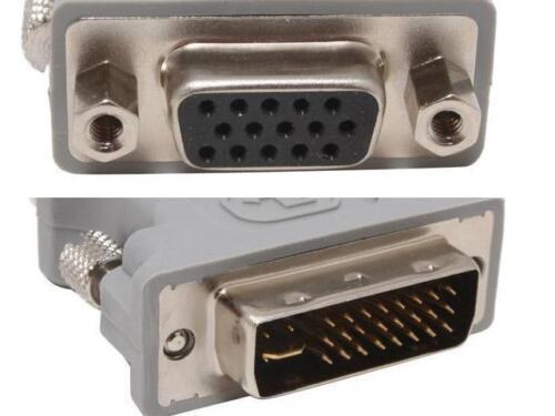 14331 DVI male To VGA 15pin Female Adapter//Converter
