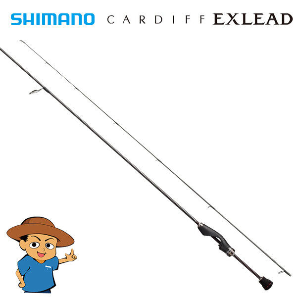 Shimano CARDIFF EXLEAD HK S60L F Light trout fishing spinning rod 2018 model