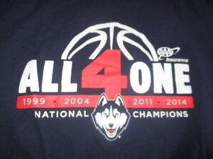 bdf5b44c16 ALL 4 ONE 1999 0004 2011 2014 UCONN Huskies NATIONAL CHAMPIONS (LG ...