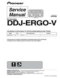 Service-Manual-Manual-for-Pioneer-Ddj-Ergo-V