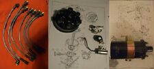 TRIUMPH GT6 Mk3  Cap Points Rotor Arm Condenser Coil Leads IGNITION SET (70- 74)