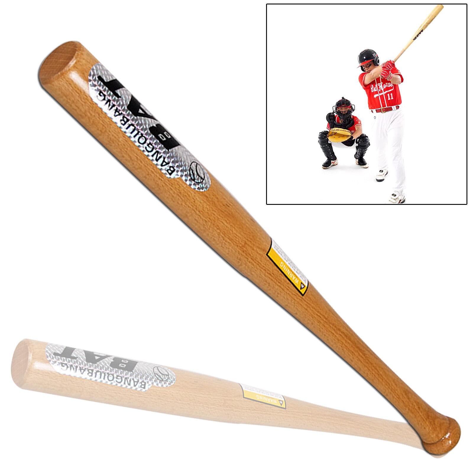 Batte de bois baseball en bois de de 32'' raquette de sport de batte de softball en 7f7085