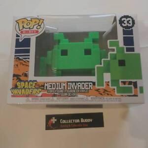 Action- & Spielfiguren FUNKO Space Invaders Medium Invader 8-bit #33 POP VINYL FIGURE