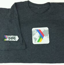 Google Developers Groups CD DG Medium / Large M/L Employee Gray Tee T-Shirt