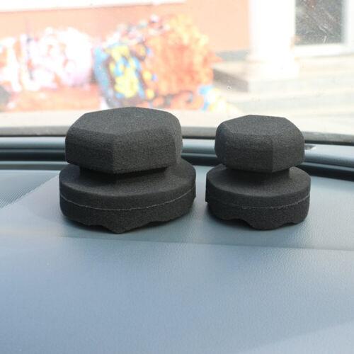 Wachsschwamm Reiniger Auto Reifen Applikator Tragbar Handlich Polieren