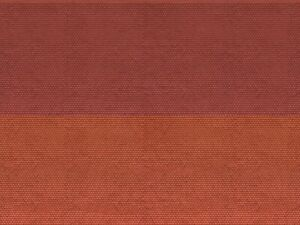 Noch-N-1-160-56970-3D-Kartonplatte-Biberschwanz-rot-GMK-World-of-Modelleisenb
