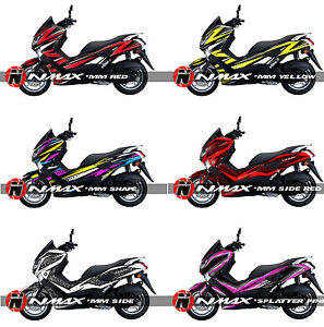 Yamaha NMax N Max NMax Custom Decal Sticker Graphic Kit EBay - Custom motorcycle stickers design
