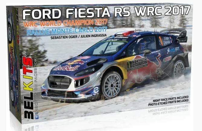 Belkits 1 24 Ford Fiesta RS WRC World 2017 Sebastien Ogier Julien Ingrassia