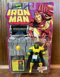 Mandarin Vintage Iron Man Action Figure New 1994 Toybiz 90s Cartoon Marvel Comic