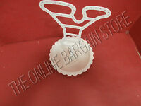 Pottery Barn Teen Pbt Iron Earring Jewelry Tree Holder Stand White Letter Y