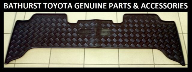 Toyota Landcruiser 100 Series Rear Rubber Floor Mat GXL SAHARA GENUINE NEW