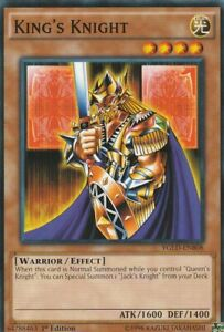 YUGIOH-CARD-KING-039-S-KNIGHT-YGLD-ENB08-1ST-EDITION