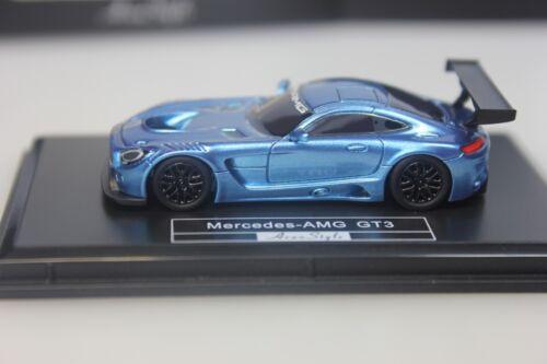 Avan Style 018-1:87 FrontiArt Mercedes AMG GT3 blau-metallic