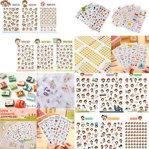 Details about Life Calendar Diary Deco Stickers Planner Decoration Labels  Scrapbook Journal