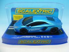Scalextric MM C3264 Lamborghini Aventador Polizia limited edition of 100