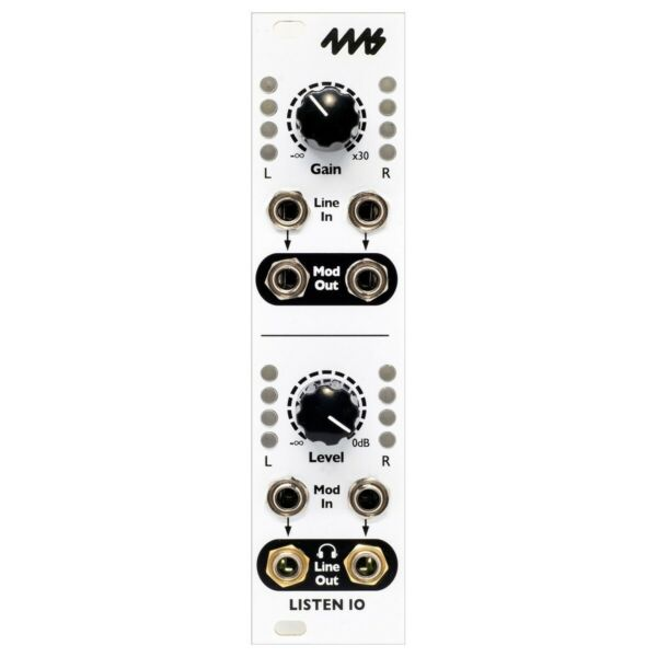 4ms Listen In/out Eurorack Audio Interface Module En Digestion Helping