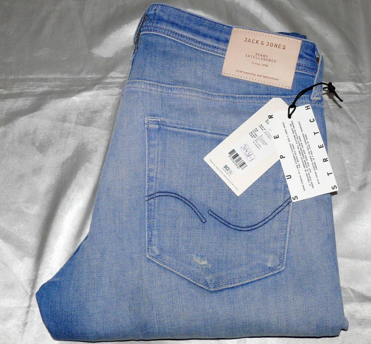 Jack & Jones Jones Jones Glenn Original J 042 SPS Slim Fit Herren Jeans Stretch W33 L32 Blau 1b83d0