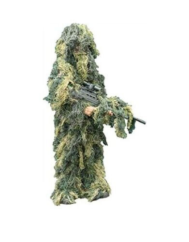 New Childrens Boy Camouflage Netting Sniper .Age 10 ap Kids Army Ghillie Suit