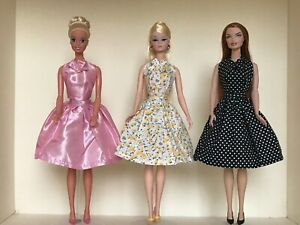 Dressmaker-Details-Assortment-with-2-Tops-Skirt-and-Shoes-for-12-inch-Dolls-NEW
