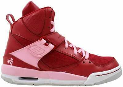 NIKE AIR JORDAN FLIGHT VALENTINES DAY RED LACE BASKETBALL SHOE WOMEN 6.5 KID 5.5 | eBay
