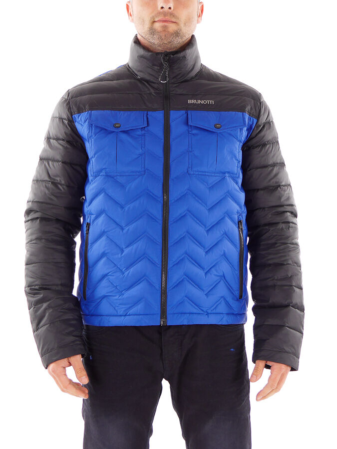 Brunotti chaqueta vellón función chaqueta Wave azul viento denso caliente