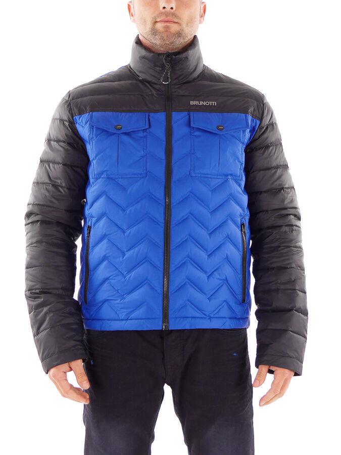 Brunotti Jacke Outdoorjacke Funktionsjacke Wave blau winddicht warm
